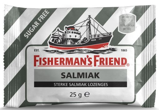 FISHERMANS FRIEND SALMIAK SUIKERFREI