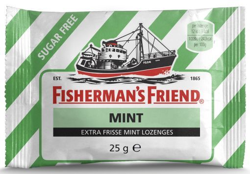 FISHERMANS FRIEND STRONG MINT SUIKERFREI