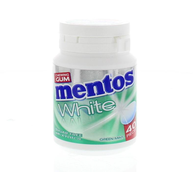 MENTOS GUM BOTTLE GREENMINT