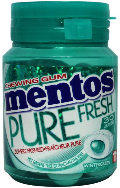 MENTOS GUM BOTTLE WINTERGREEN