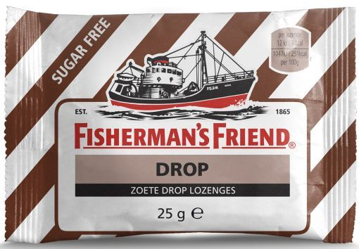 FISHERMANS FRIEND ZOETE DROP SUIKERFREI