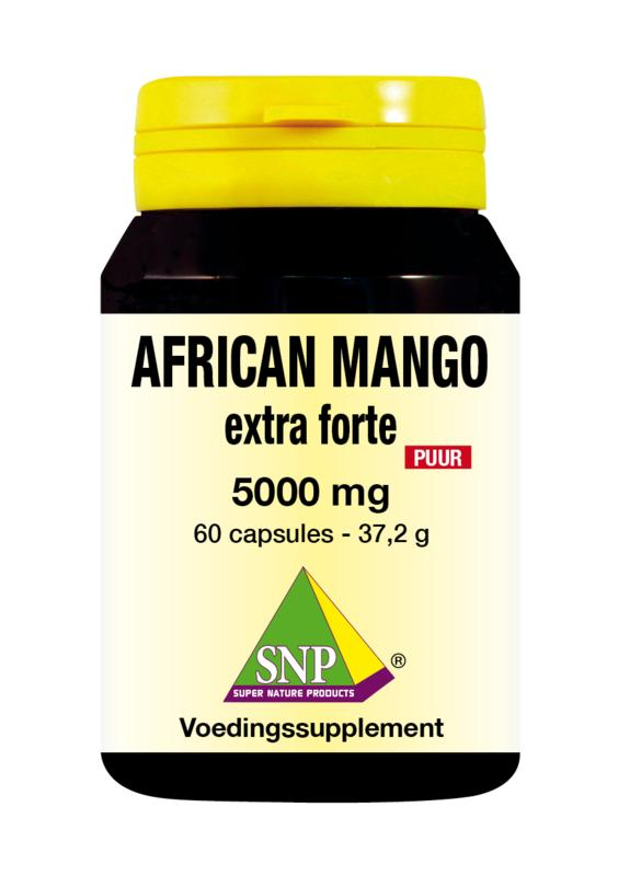AFRICAN MANGO EXTRACT 500 MG PUUR